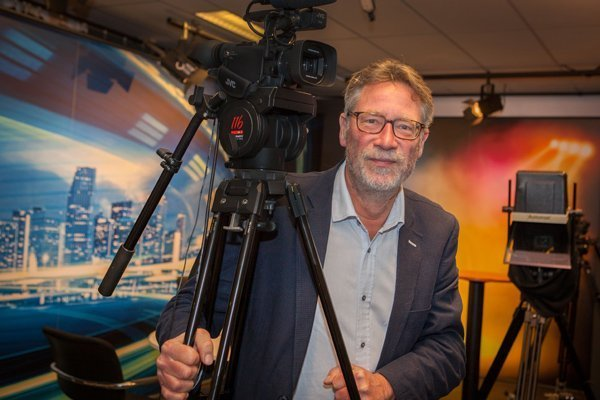 Bert Visser mediatrainer bij Brain Box