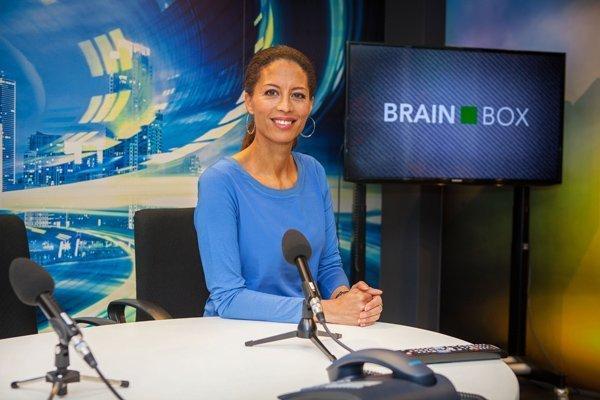 Maureen du Toit presentatietrainer en mediatrainer bij BrainBox