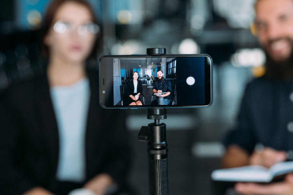 Social media en vloggen